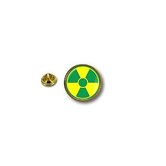 Pins Pin Badge Pin's Metal Biker Motard Symbol Radioactif Nucleaire Radiation