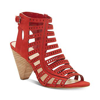 Vince Camuto Womens Evalina Leather Open Toe Casual Strappy Sandals