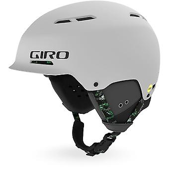 Giro Trig MIPS Helmet - Light Grey/Moss