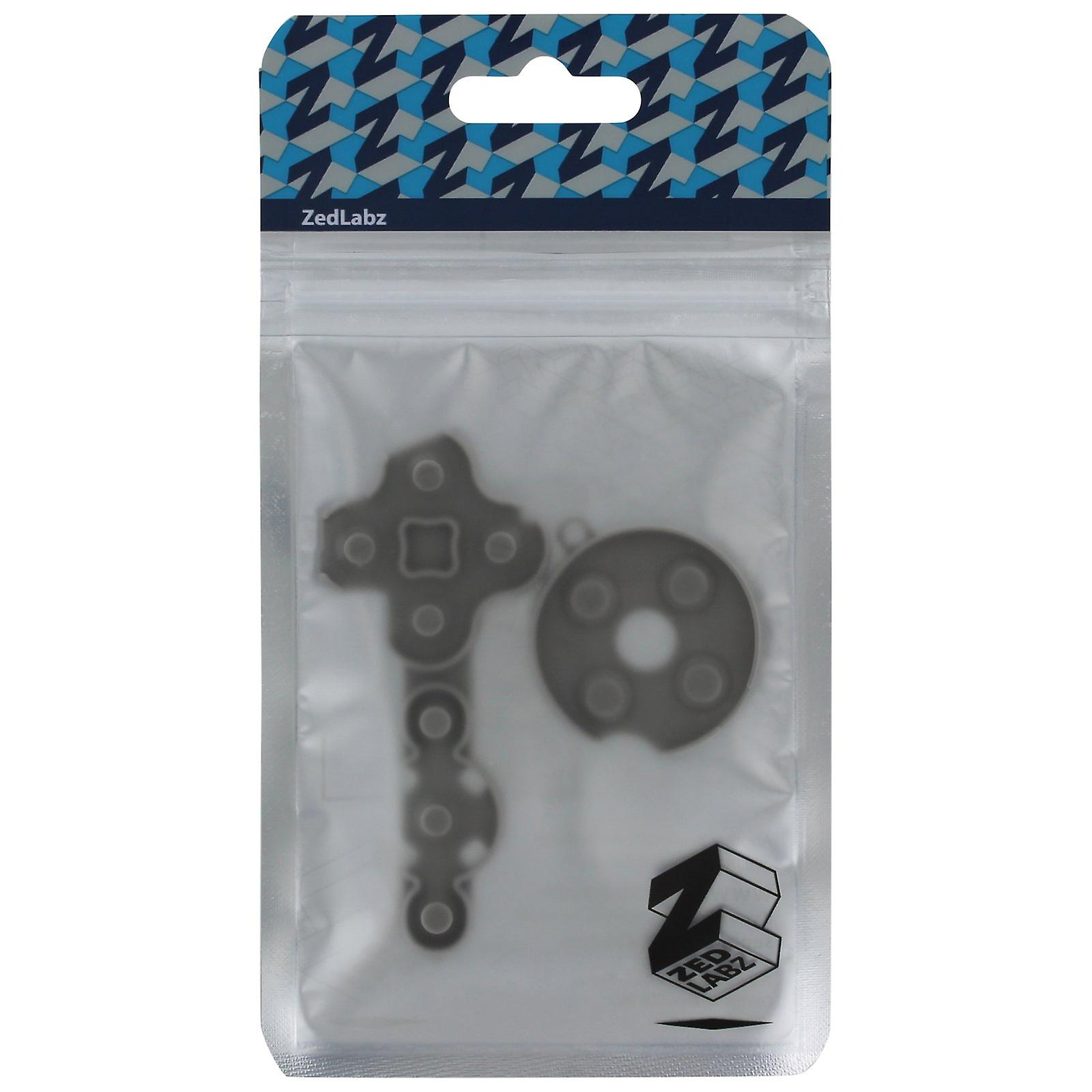 Conductive rubber pad button contacts gasket kit for xbox 360 controllers
