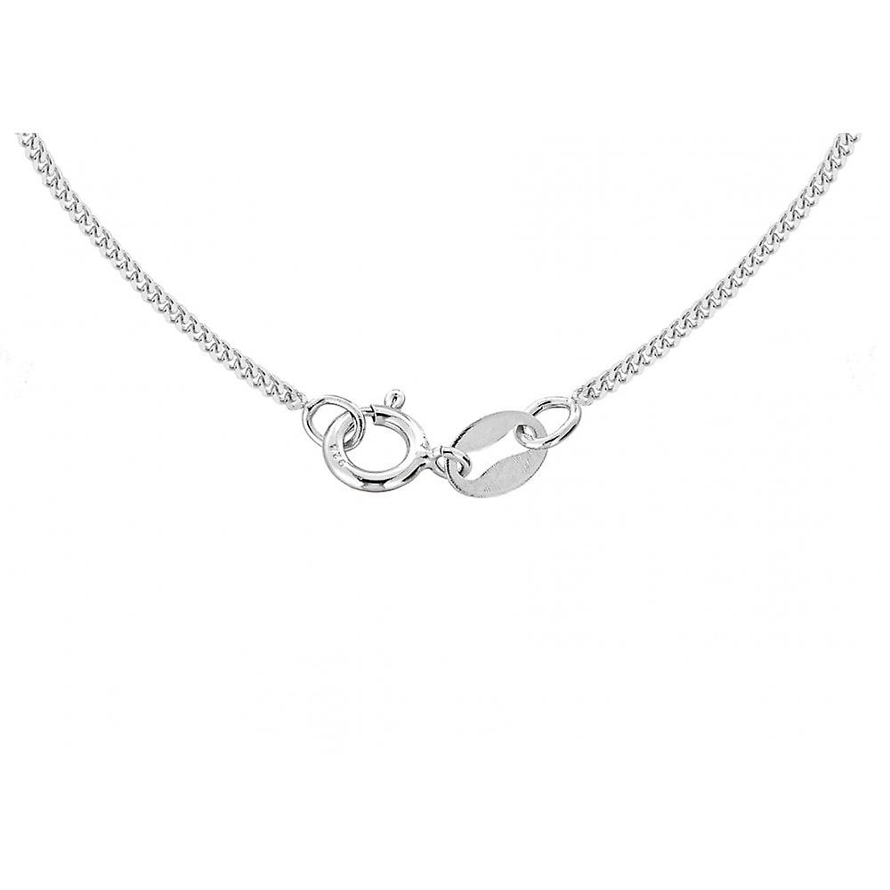 Eternity Sterling Silver 20mm Oval Love Locket And 18'' Chain