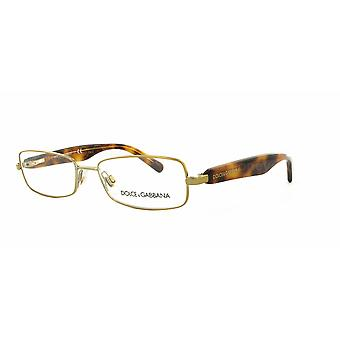 Dolce&Gabbana DG1234P 1202 Pale Gold Glasses