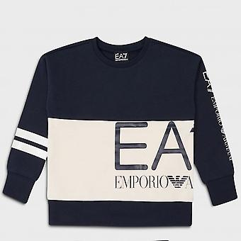 EA7 Girls Emporio Armani Girls Navy Blue Tracksuit