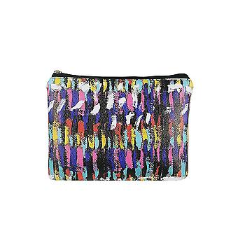 Jewelcity kvinner/Ladies maleriske Brush Big flat makeup bag