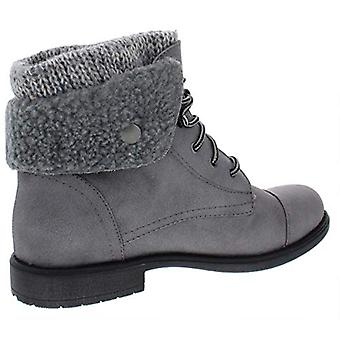 CLIFFS BY WHITE MOUNTAIN Womens Decker Faux Leather Ankle Booties