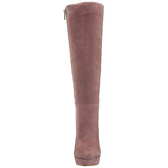 Jessica Simpson Womens Rollin Fabric Almond Toe Knee High Fashion Boots