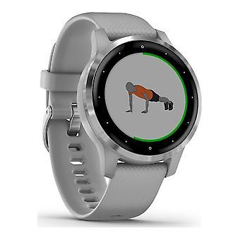 Garmin - Smartwatch - vivoactive 4S Grey Silver - 010-02172-02