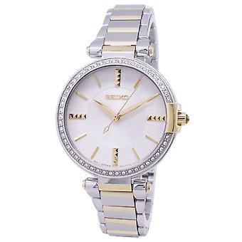 Seiko Analog Quartz Diamond accenter SRZ516 SRZ516P1 SRZ516P kvinnor ' s Watch
