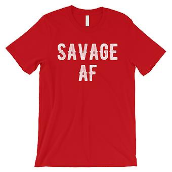 365 Printing Savage AF Mens Red Priceless Mood Truth Humurous T-Shirt For Gift