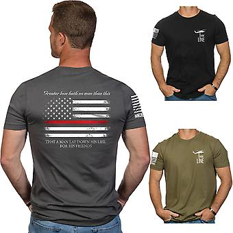 Nine Line Apparel Thin Red Line Short Sleeve T-Shirt