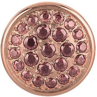 Pierre Breil TJ2084 - stone round steel IP Rose Briolette Zircon.Brun PM woman