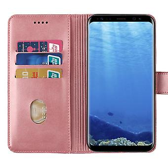 CaseGate phone case case cover for Samsung Galaxy S8 case cover - lock, stand function and card compartment