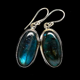 Labradorite Earrings 1 1/2