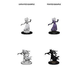 D&D Nolzur's Marvelous Unpainted Minis Wraith and Specter (Pack of 6)