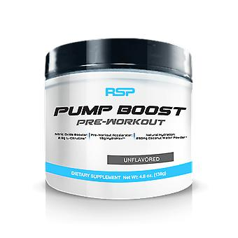 Rsp pump boost, pre-workout, nitric oxide booster, stimulant free (unflavored, 30 servings)