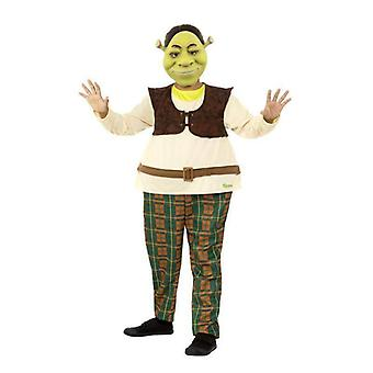 Shrek Kids Deluxe Costume Child Green