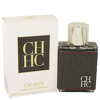 Ch carolina herrera eau de toilette spray da carolina herrera 465493 50 ml