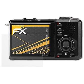 atFoliX Película Vidrio compatible con Sigma DP1/DP2/DP3 Merrill 9H Armadura protectora