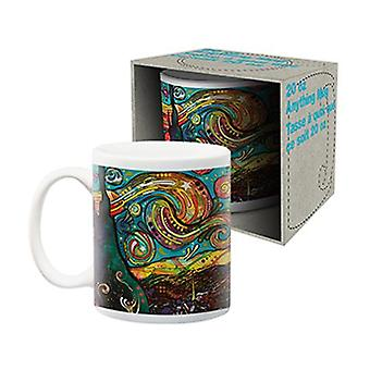 Dean russo - starry night jumbo ceramic mug