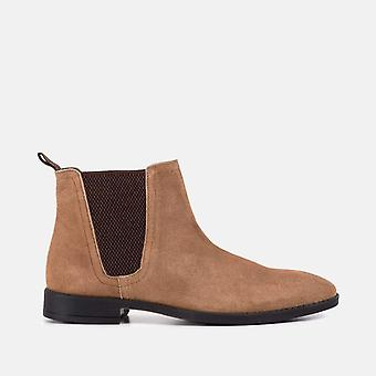 Jack tan suede classic chelsea boot