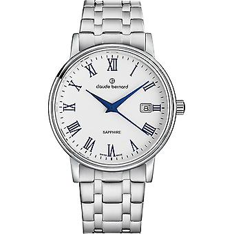 Claude Bernard - Wristwatch - Unisex - Classic Gents - 53007 3M ARBUN