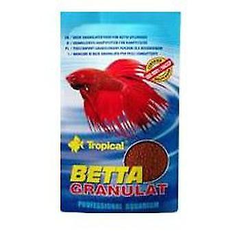 Тропический бетта гранулы 10 G (рыбы, еда, теплая вода)