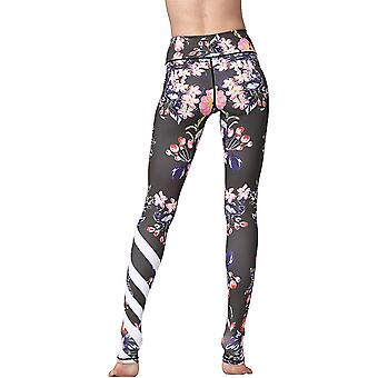 "Witkey Printed Long Women Yoga, 34. Tulip, Size US L / Tag XL (Hip 30""-36"")"