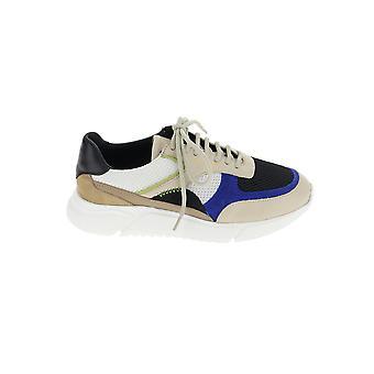 Axel Arigato 84004beigeblackblue Kvinnor's Multicolor Läder Sneakers