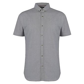 Firetrap Mens camisa de manga curta casual todos os dias