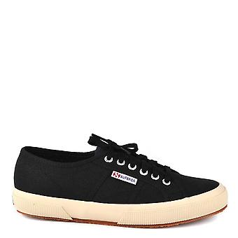 Superga Men's 2750 Cotu Classic Black Trainer