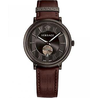 فيرساتشي ساعة رجالية V-Circle VEBQ00419 مع ثانية صغيرة