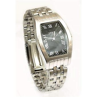 Spirit Black Dial Bracelet Strap Gents Dress Watch ASPG01