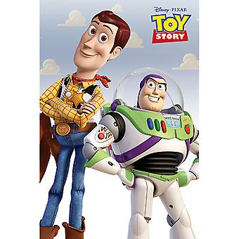 Toy Story Woody og Buzz Maxi Plakat