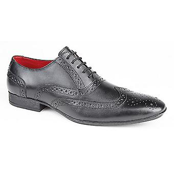 Route 21 Mens 5 Eye Brogue Oxford Shoes