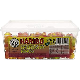 Haribo Friendship Rings (300) Pieces 750g