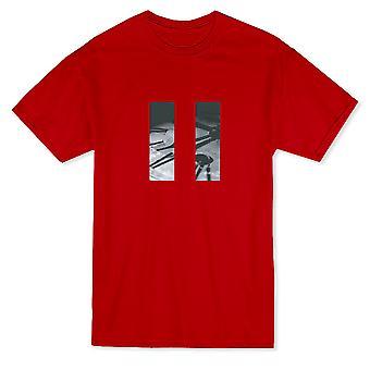 Paused Time Clock Pattern Design Men's T-shirt