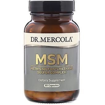 MSM with Organic Sulfur Complex (60 Capsules) - Dr. Mercola