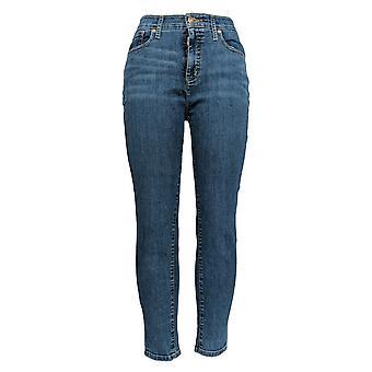 Isaac Mizrahi Live! Donne&s Jeans TRUE DENIM 5-Pocket Ankle Blue A302239