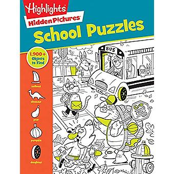 School Puzzles by Highlights - 9781684376551 Book