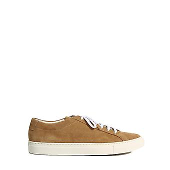 Common Projects 22511302 Men's Brown Leather Sneakers