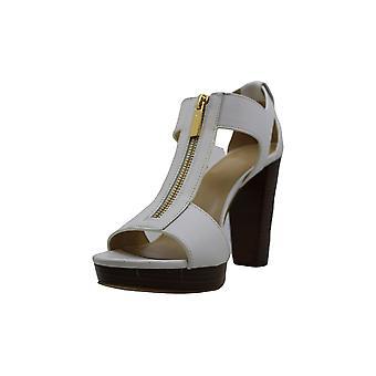 Michael Michael Kors Womens Berkley Leather Open Toe Casual Strappy Sandals