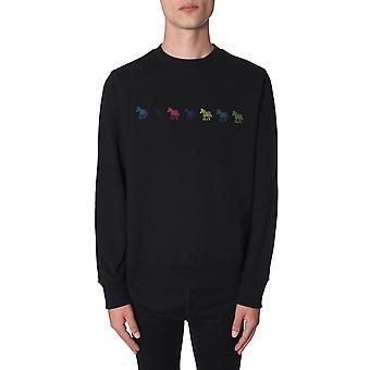 Ps Door Paul Smith M2r027reap111879 Men's Black Cotton Sweatshirt
