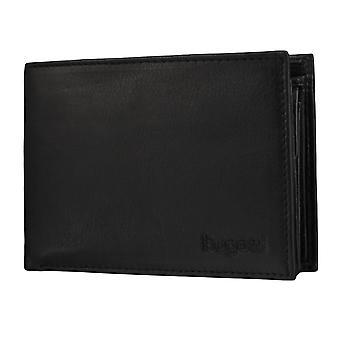 Bugatti Sempre plånbok mens plånbok väska svart 3586