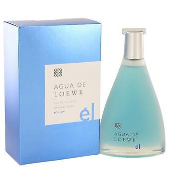 Agua De Loewe El Eau De Toilette Spray By Loewe 5 oz Eau De Toilette Spray
