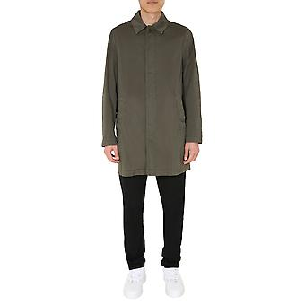 Aspesi Ci54g33485390 Hombres's Green Cotton Trench Coat