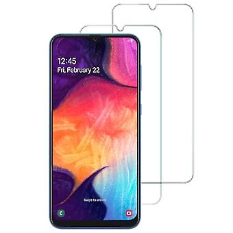 Samsung Galaxy A40 & A50 Curved 3D Tempered Glass Full Screen Protector (Clear)