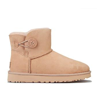 Women's Ugg Australia Mini Bailey Button II Boots in Pink