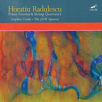 Radulescu:  Sonatas & String Quartets 1 - Philip Clarke (Piano); Jack Quartet [CD] USA import