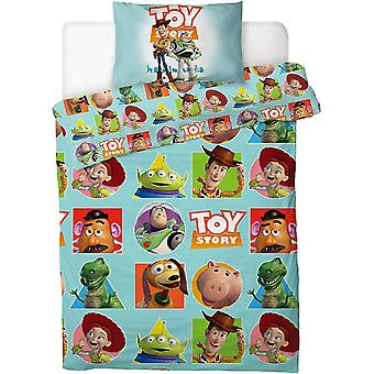 Toy Story 4 Patch Single Duvet Cover Set