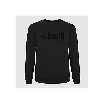 Cinelli T-shirt - Milano Flocked Crewneck Sweatshirt